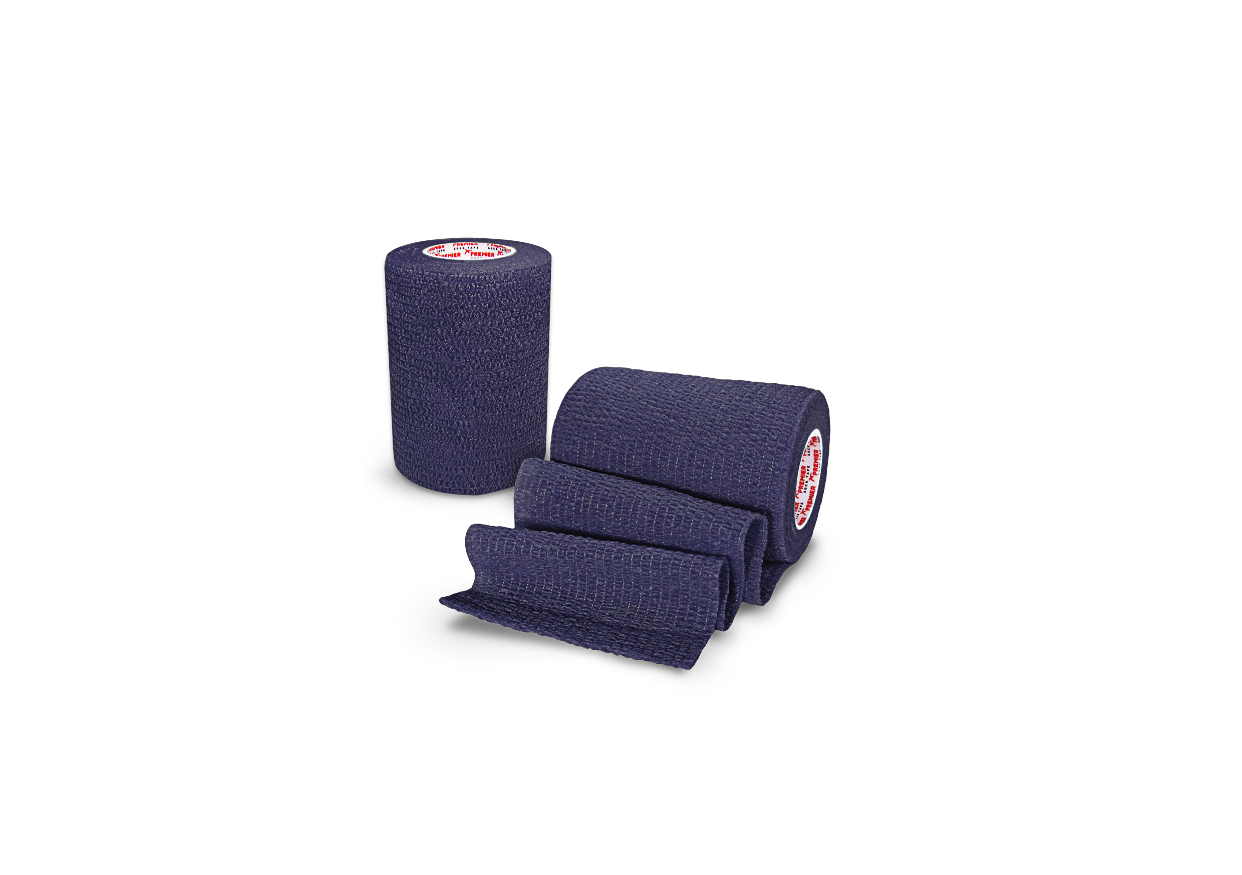 Premier Sock Tape 7.5cm Pro Wrap Navy Blue