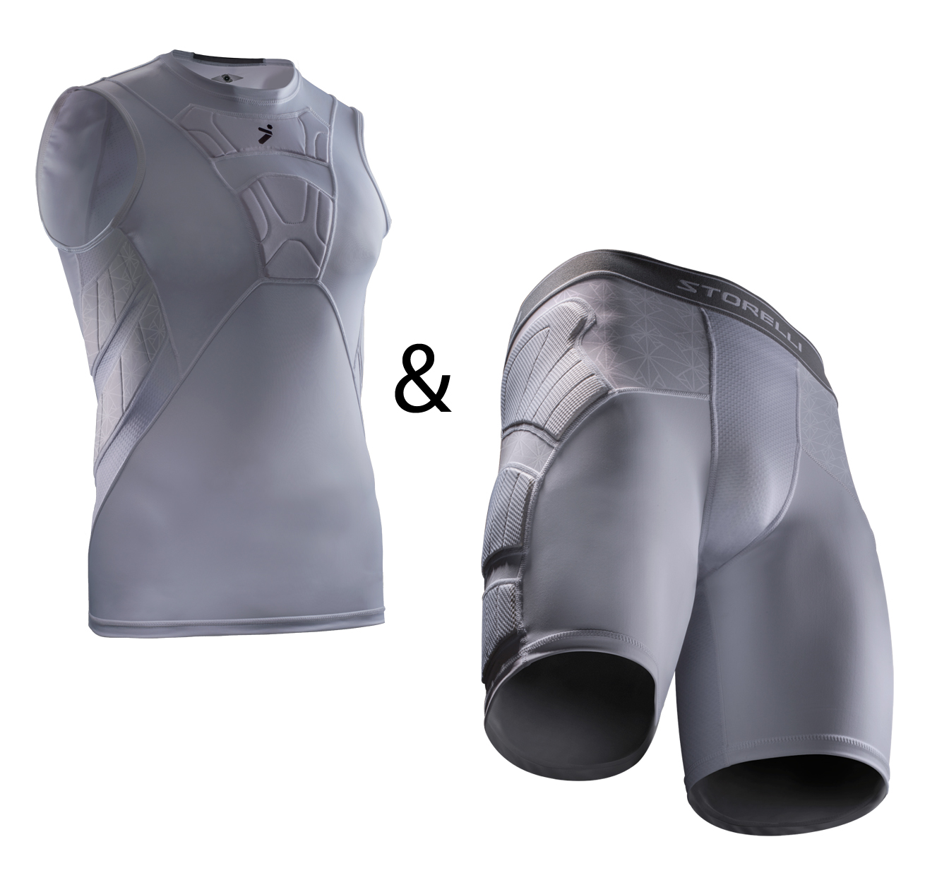 Storelli Sleeveless Undershirt and Impact Sliders