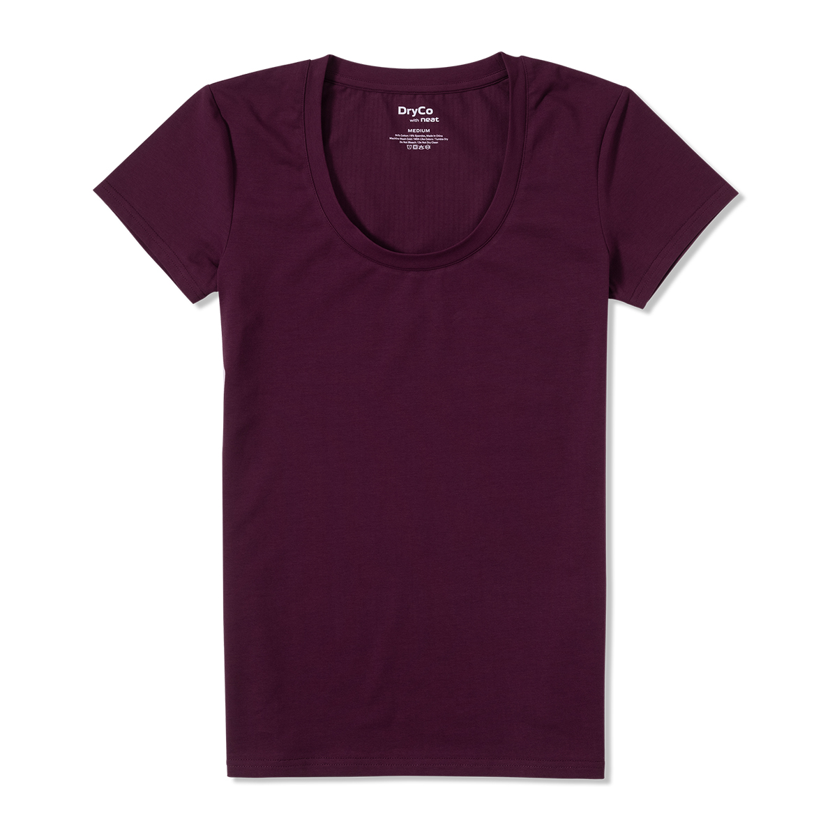 womens sweat hiding tee